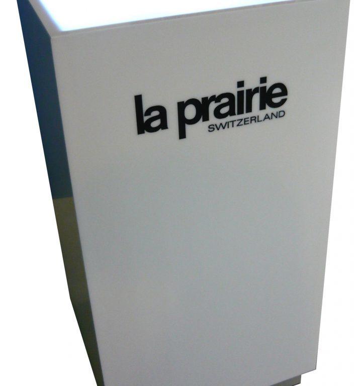 Postument z podświetlonym blatem LA PRAIRIE