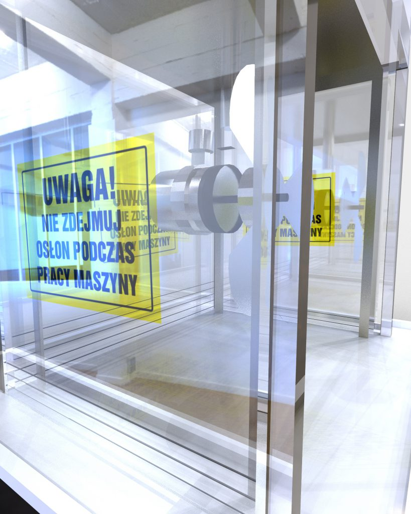 Drzwi i parawany z plexi transparentnej