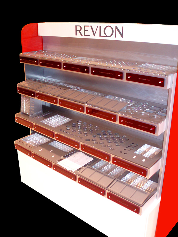 Szafa ekspozycyjna REVLON